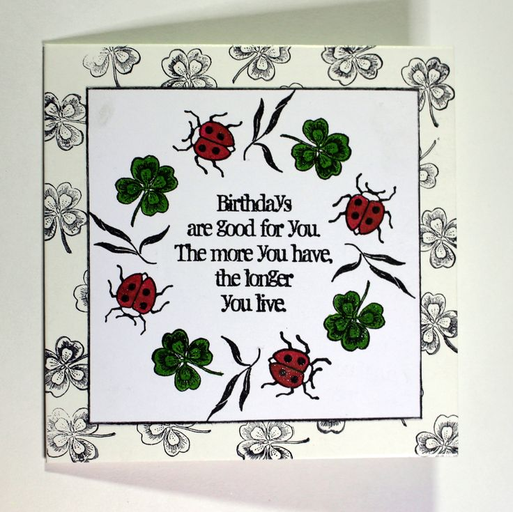 Quick and easy card created with Lily and Birthday Words stamp sets from Chocolate Baroque. Anne Waller #chocolatebaroque #stamping #cardmaking