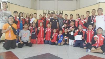 MACAM - MACAM SENI BELA DIRI: Kalimantan Selatan Juara Umum Karate Lemkari di Pa...