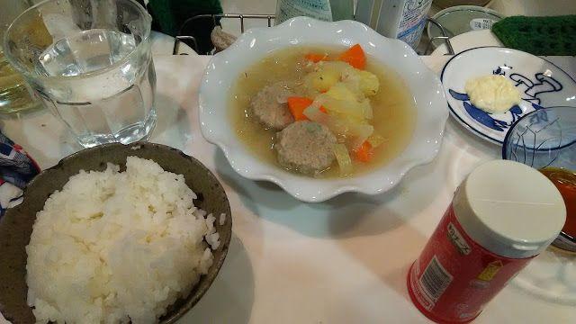 神田森莉 ハムブログ: イワシのつくねの味噌汁とアイバニーズの円形ピック