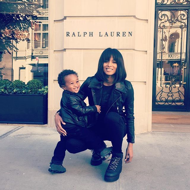 Pin for Later: Ciara and Little Future Sure Make For One Incredibly Cute Mother-Son Duo