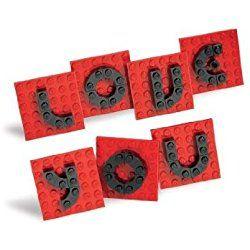 LEGO VALENTINE LETTER SET 40016 41 Piece Exclusive LEGO Valentine Set