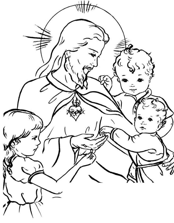 133 besten Catholic Coloring Pages Bilder auf Pinterest | Katholisch ...