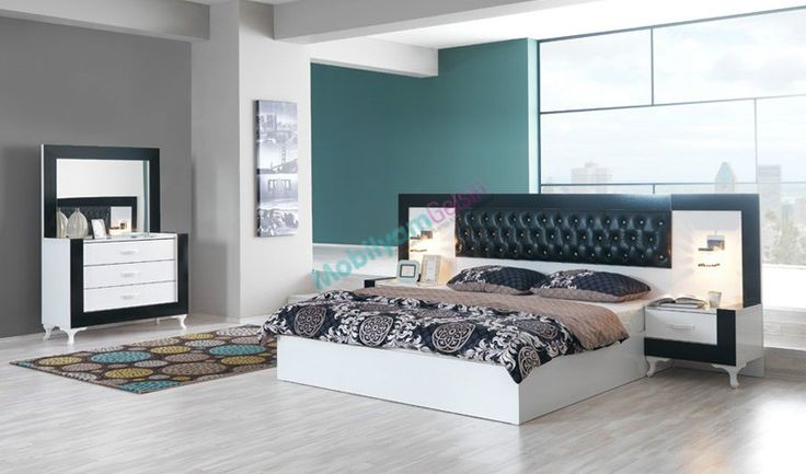 Sedef Modern Yatak Odası #yatak #yatakodasi #modern #mobilya #modoko #mobilyamgelsin