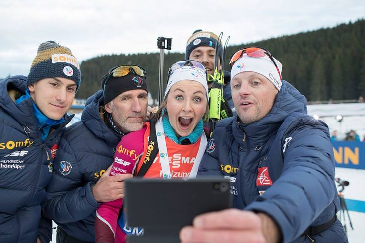 Justine Braisaz (FRA) - first podium ever (Pokljuka 2016, sprint, 2.place)
