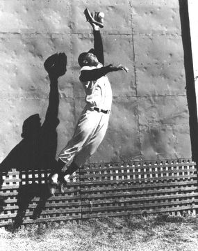 The incomparable Willie Mays!  Say Hey Willie.. :)