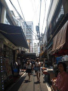 THIS IS NOT PHOTO: TSUKIJI  (TOKIO) mercado a 40º