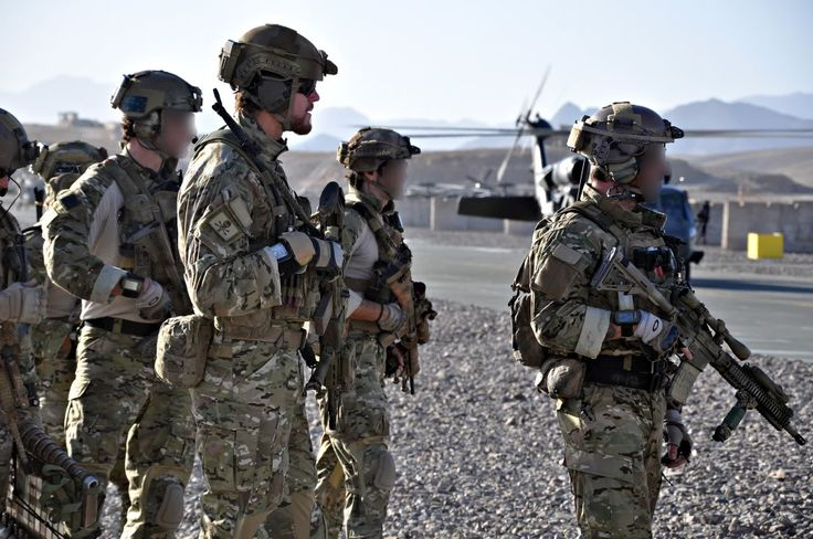 Australian SAS Operators in Afghanistan. The operator in the center with the M14 EBR is CPL Ben Roberts Smith who recently was awarded the Victoria Cross, our equivalent of the Medal of Honor, for single handedly clearing out an enemy  fortified position and MG nest.