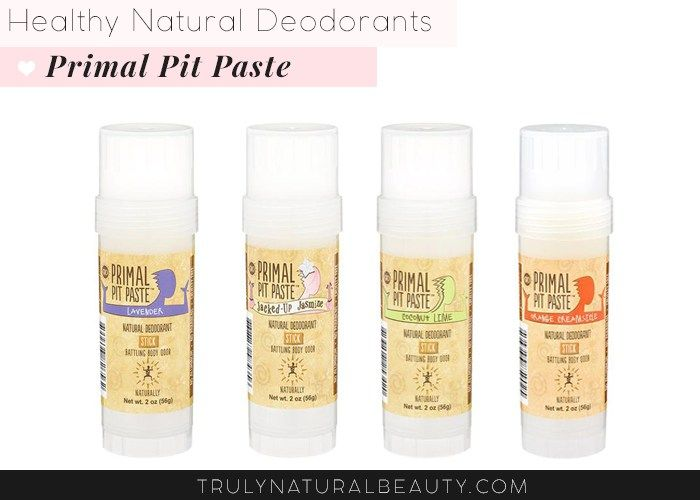 Primal Pit Paste Natural Deodorant. Awesome list!! Ultimate guide to effective natural healthy organic nontoxic aluminum free deodorant.Please REPIN! <3 :)