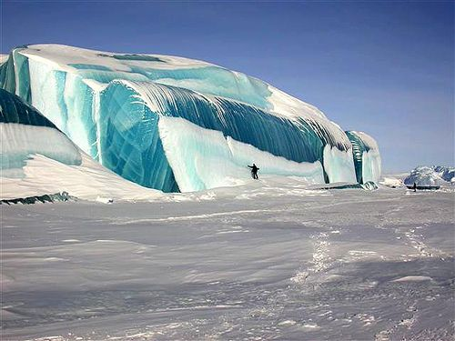 "Giant Frozen ""Wave"""