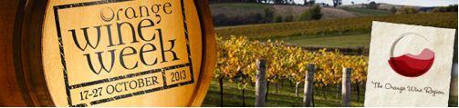 2013 Orange Wine Week dates announced