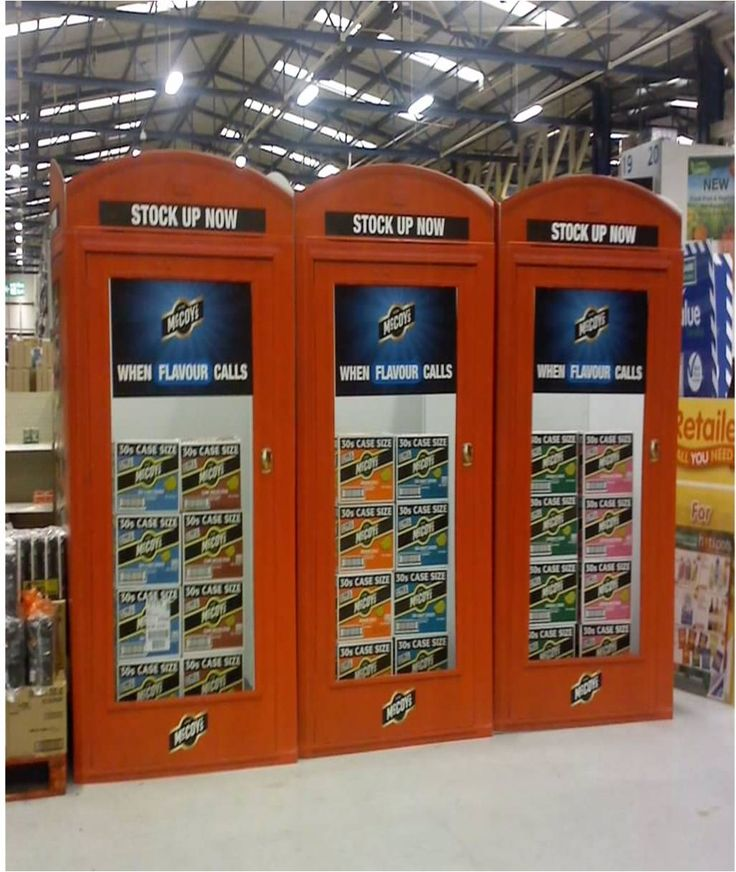 McCoys Telephone Box- Flavour Calling