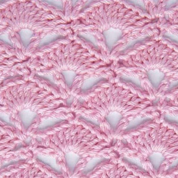 30 padrões de pontos e pontos em crochet a céu aberto | Todos crochê