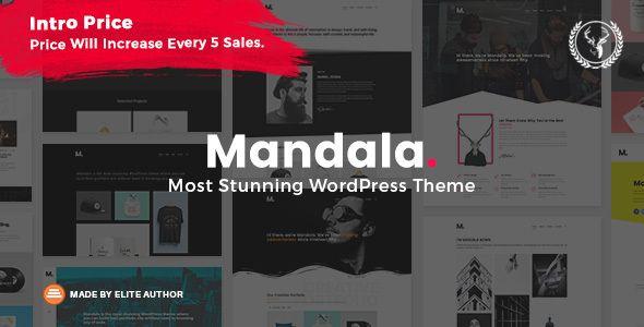 Mandala   Portfolio WordPress Theme Multi-Concept