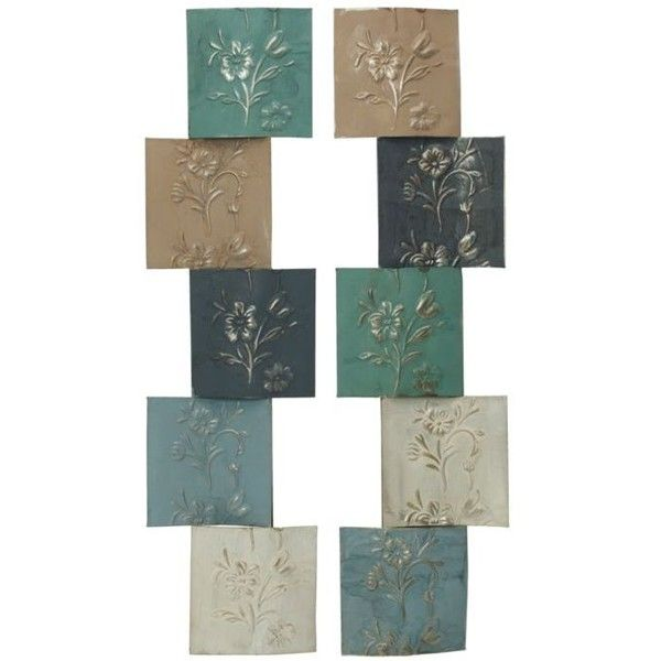 Elements  5 Step Flower Metal Wall Decor ($32) ❤ liked on Polyvore featuring home, home decor, wall art, assorted, flower wall art, motivational wall art, metal wall art, metal flower wall art and metal home decor