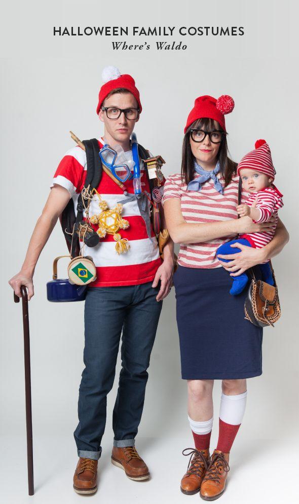 Halloween Family Costumes: Where's Waldo