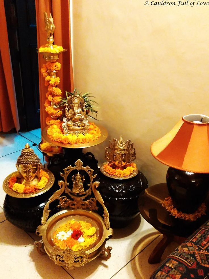 21 best decoration images on pinterest altars ethnic for Home decorations diwali