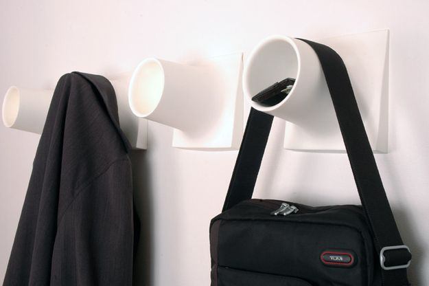 The Cubby: A Hook and Cubby Shelf in One | 27 Genius New Products You Had No Idea Existed