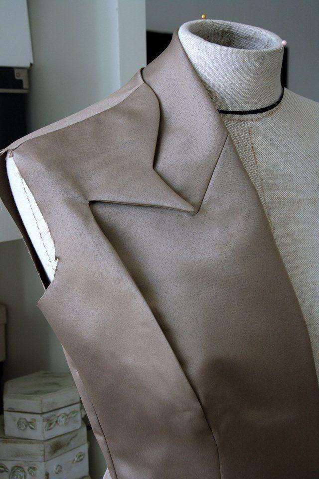 Innovative Pattern Cutting adding shape & depth; tailoring; creative sewing; fabric manipulation // Olga Serova