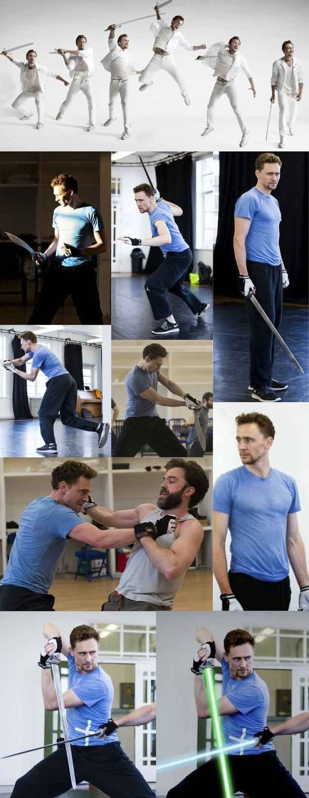 Tom Sword Fighting Is Heaven On Earth | This Post Will Destroy Your Life - Tom Hiddleston