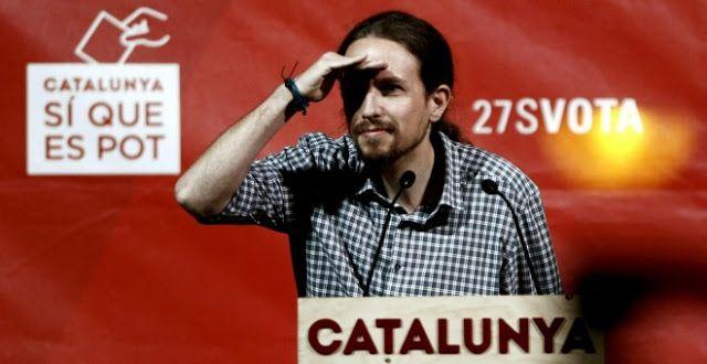 """#politica #pablo iglesias Pablo Iglesias a Artur Mas: """"Coleta Morada no entender"""""""