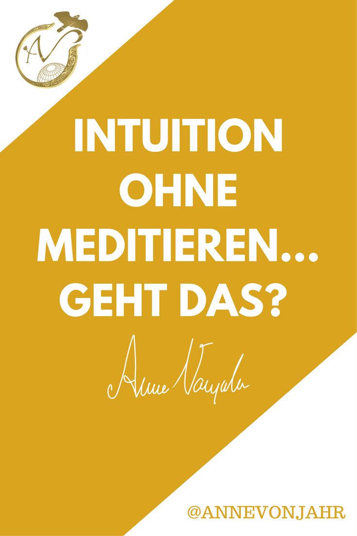 """Muss man meditieren um intuitiv oder medial zu sein? Das erfährst du in dieser Folge """"Beyond with Anne"""""""