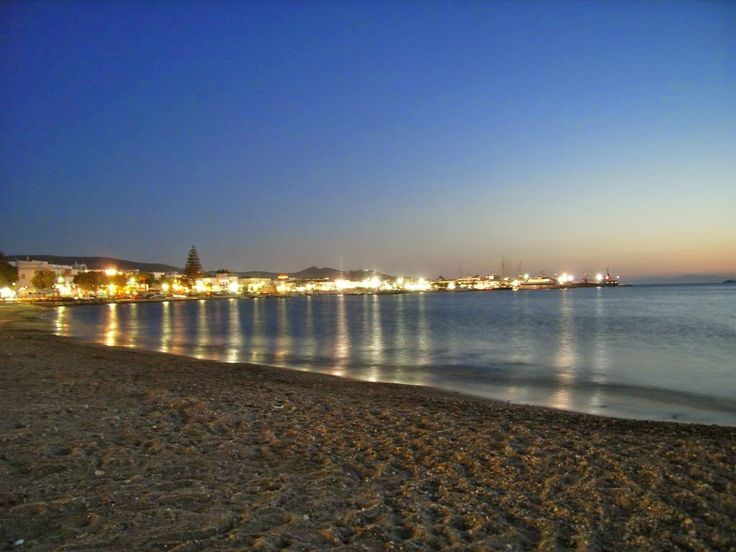 Chios island at night | Smile Greek