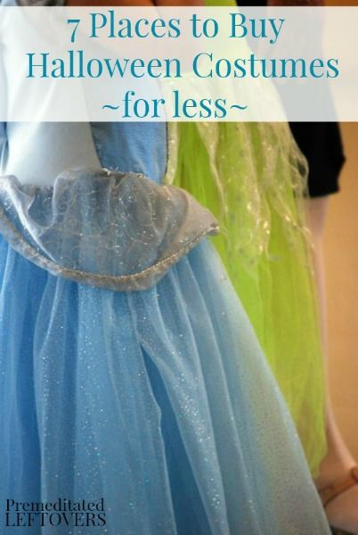 The Best Places to Find Inexpensive Halloween Costumes - You don't have to spend a lot of money on your Halloween costume. Check out these frugal resources.