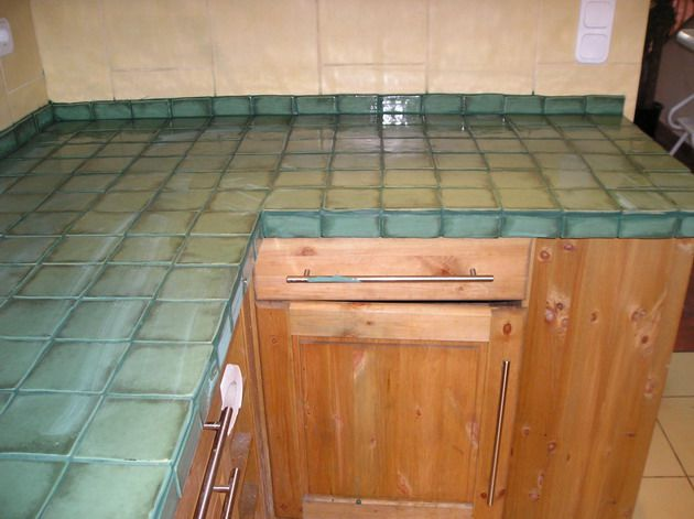 17 Best Images About Tile Counter Tops On Pinterest Countertops Tile And Spanish Tile Kitchen