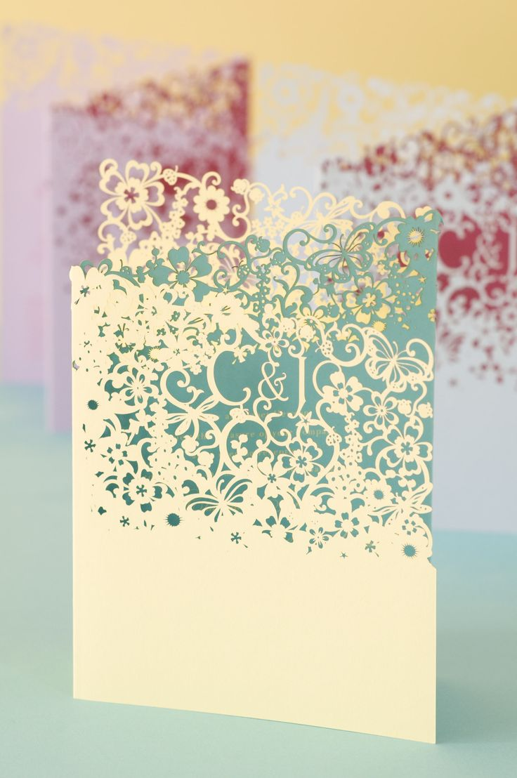 Chartula Studio Laser Cut Cards