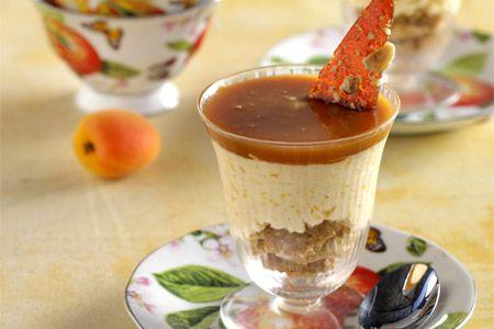 Μους βερίκοκο με σάλτσα καραμέλας - Συνταγές   γλυκές ιστορίες