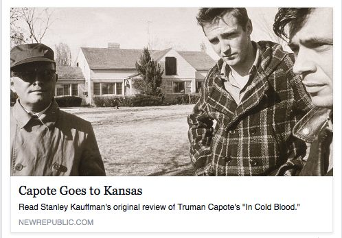 a review of truman capotes in cold blood In cold blood truman capote book review thewittygirl  rupert thomson discusses truman capote's in cold blood  in cold blood by truman capote | book review - duration: .