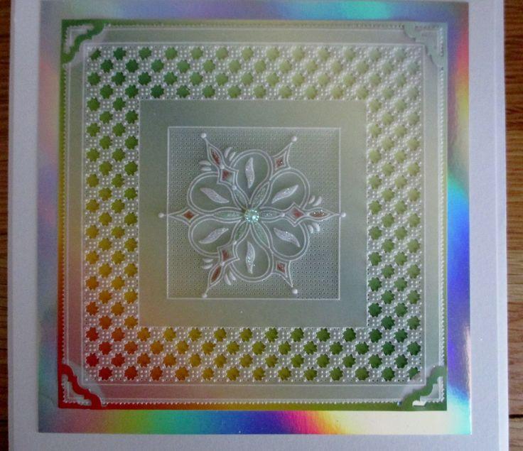 Parchment card. Design by Josie Davidson.