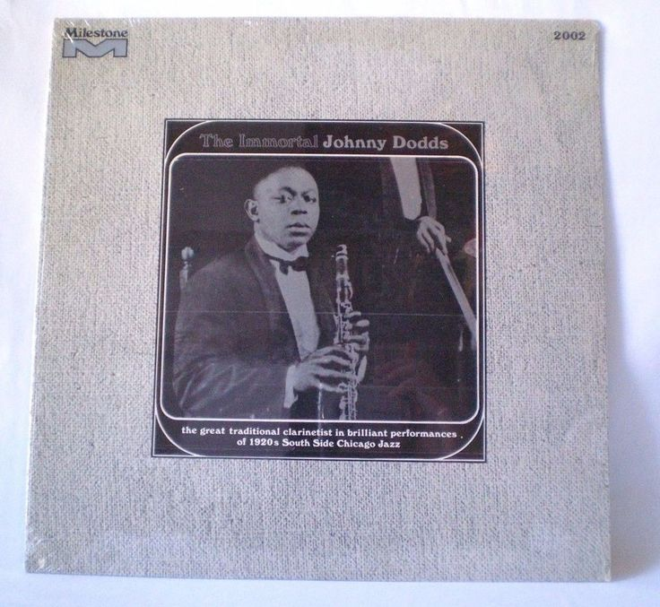 The Immortal Johnny Dodds,US,1966, CHICAGO JAZZ Dixieland, Sealed, SEE VIDEO #Dixieland