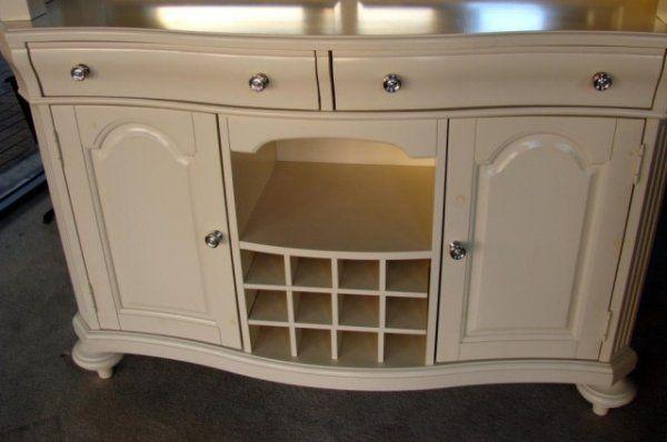 broyhill cabinet cream 2