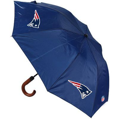New England Patriots Game Day Umbrella - Navy Blue