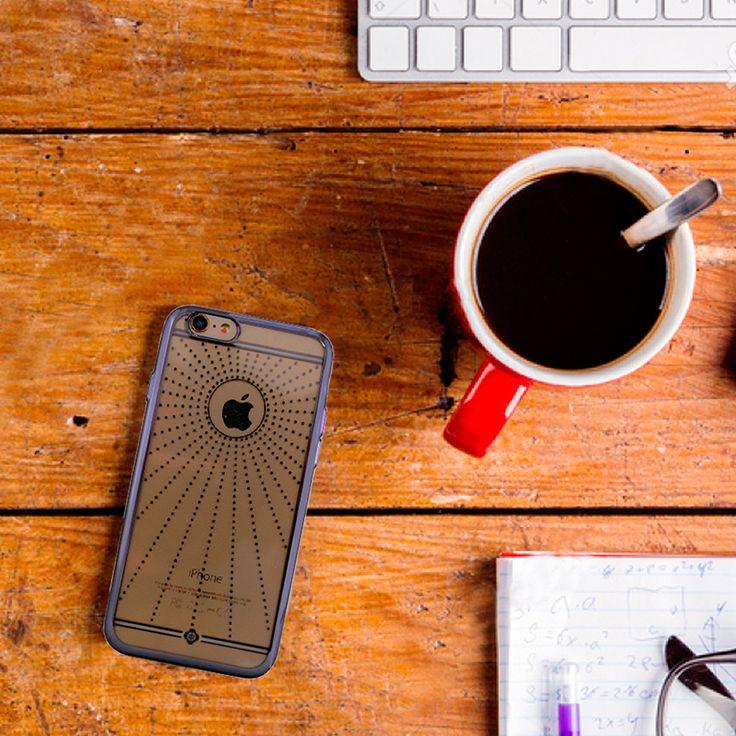 İphone 6 nokta desenli hoş tasarıma sahip kılıf