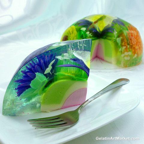 Gelatin Cake Art : 17 Best images about Gelatin Art on Pinterest Cakes ...