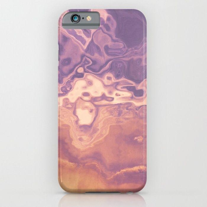 Gold violet pattern iPhone & iPod Case