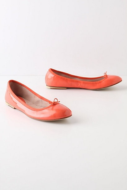 Bourree Flats... okay so maybe these are the perfect orange flat