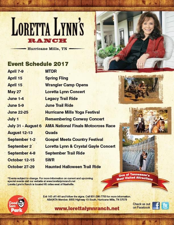 Loretta Lynn Ranch | Official Site of  Loretta Lynn's Ranch