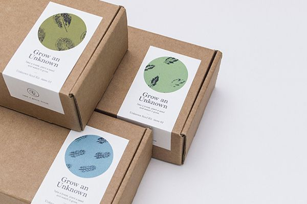 TAKE A GREEN BREAK: Unknown Seed Kit on Behance