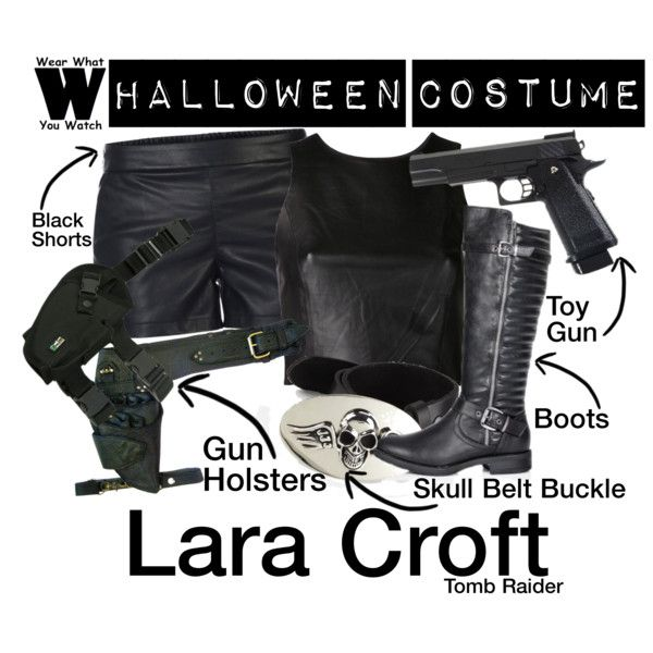 A Halloween Costume how-to inspired by Angelina Jolie as Lara Croft in the Tomb Raider film franchise.
