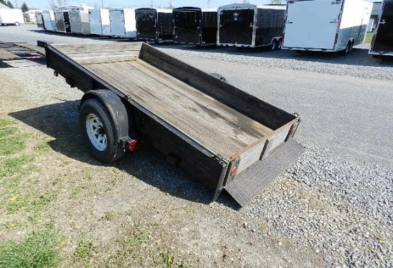 Used Trailers for Sale: Just In! PRE-OWNED! (1991) Pequea 5 x 10 Utility Trailer | trailersuperstore.com