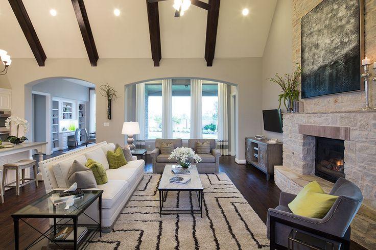 Highland Homes Light Farms Living Room Celina Tx