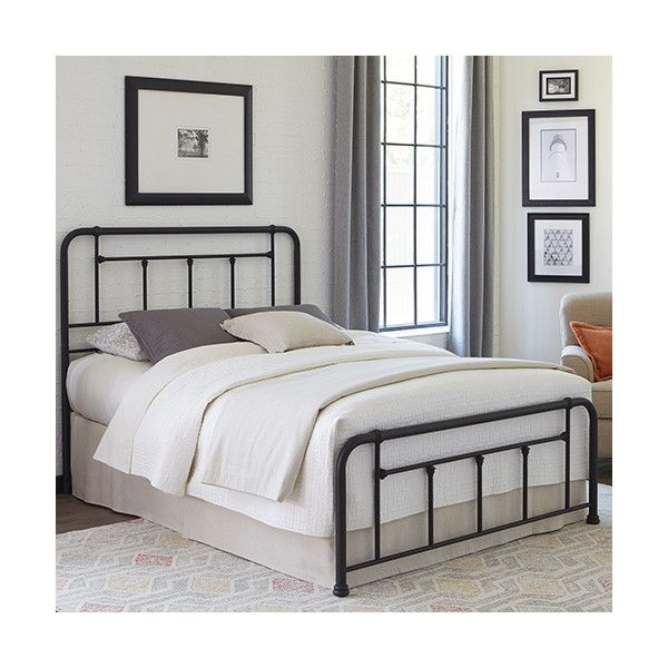Fashion Bed Group Baldwin Textured Black Queen Bed ($200) ❤ liked on Polyvore featuring home, furniture, beds, transitional bed, black queen headboard, black bed, black furniture and fashion bed group