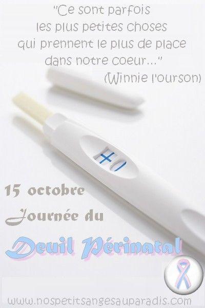 15 octobre - Journée de sensibilisation au deuil périnatal Soutien: www.nospetitsangesauparadis.com
