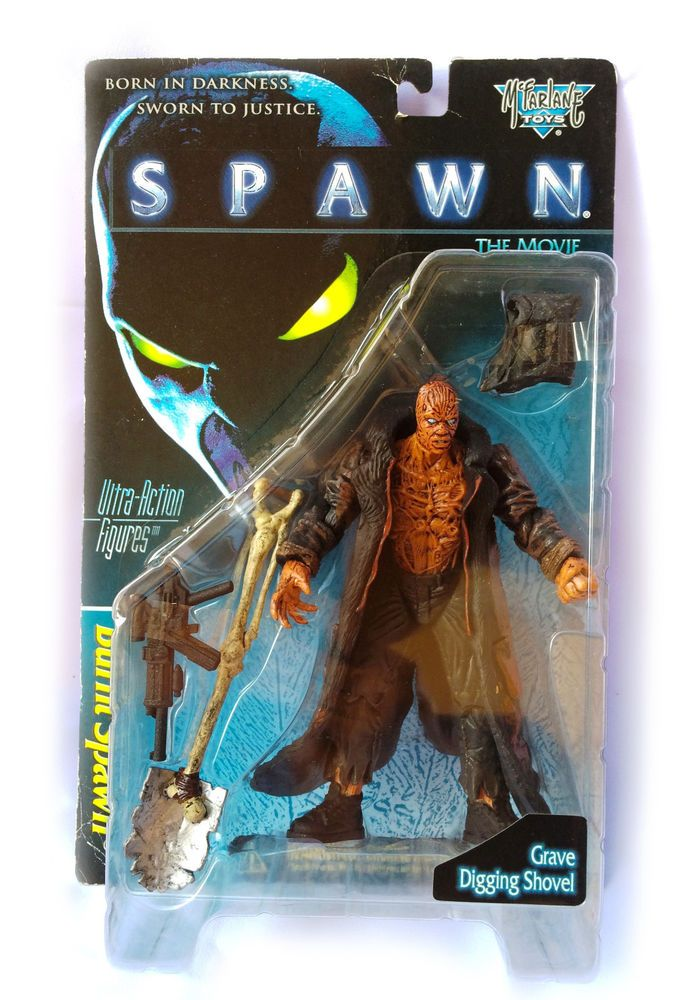 McFarlane's Toys Spawn The Movie Burnt Spawn Ultra-Action Figures MOC 1996  | eBay