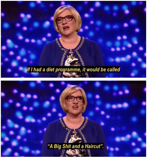 When she invented the best makeover show ever. | 21 Times Sarah Millican Was Each And Every Woman