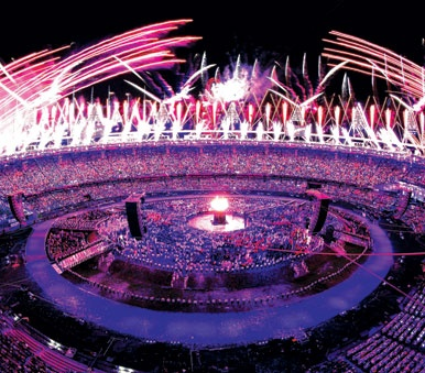 Photo 1 - June 29, 2012 - A spectacular fireworks show at the openig ceremony of the London 2012 Olympics.(Photo:Reuters) - 339 x 386