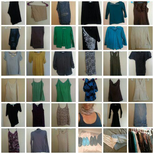 Project 333 - Fall wardrobe